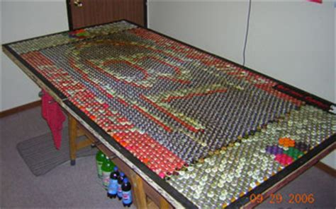 Bottle Cap Pong Table by The 33 Best Pong Tables Created Pong A