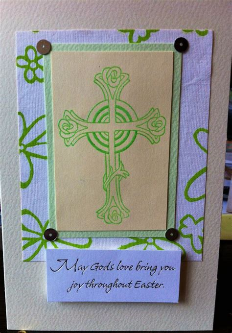 Easter Handmade Cards - handmade easter card crafting ideas