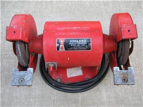 bench grinder made in usa vintage ashland bench grinder model 1782 ebay