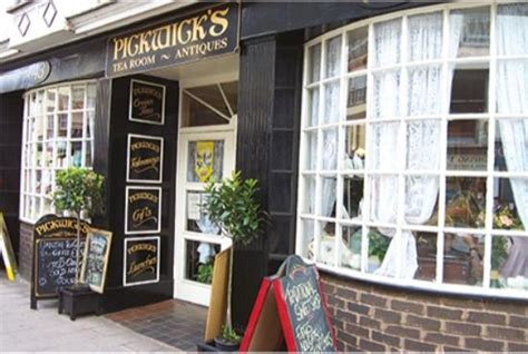 Pickwick Tea Room by Pickwicks Shopfront From 2002 Picture Of Pickwick S Tea