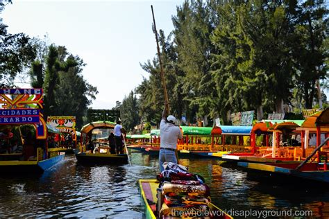 The Floating Gardens Of Xochimilco by Xochimilco Mexico City A Mexican Twist On Venice The