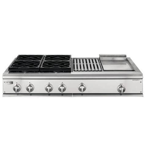 Gas Cooktop With Griddle Ge Monogram 174 48 Quot Professional Gas Cooktop With 4 Burners