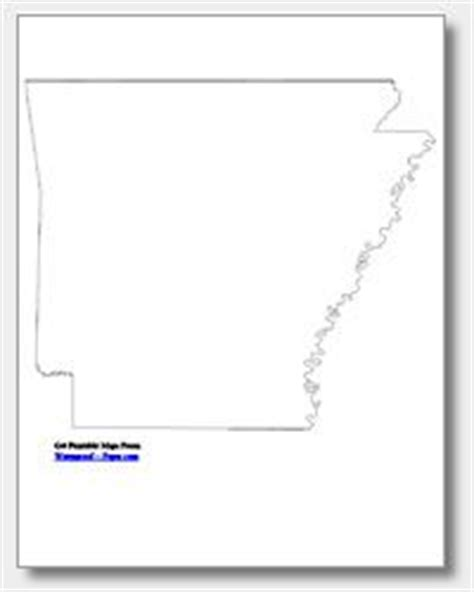 Arkansas County Outline Map by 1000 Images About Arkansas On Coloring Pages Printable Maps And Arkansas Razorbacks