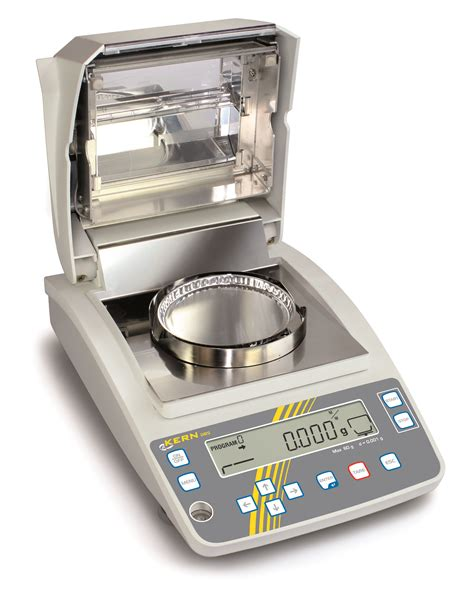 moisture analyzer kern moisture analyzer tovatech