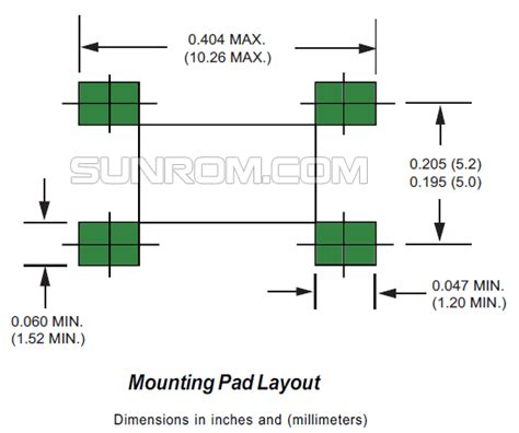 diode bridge footprint 28 images browse all smd news eeweb community mmsz5230bt1g silicon