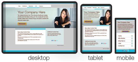 Web Design Fluid Website Templates