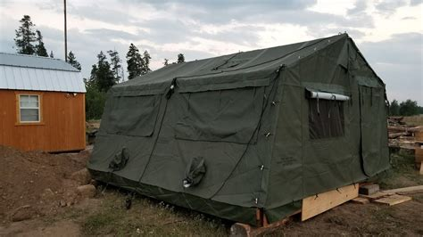 build the deck pitch the tent tent instead of rent 100 platform tents glacier gling montana luxury