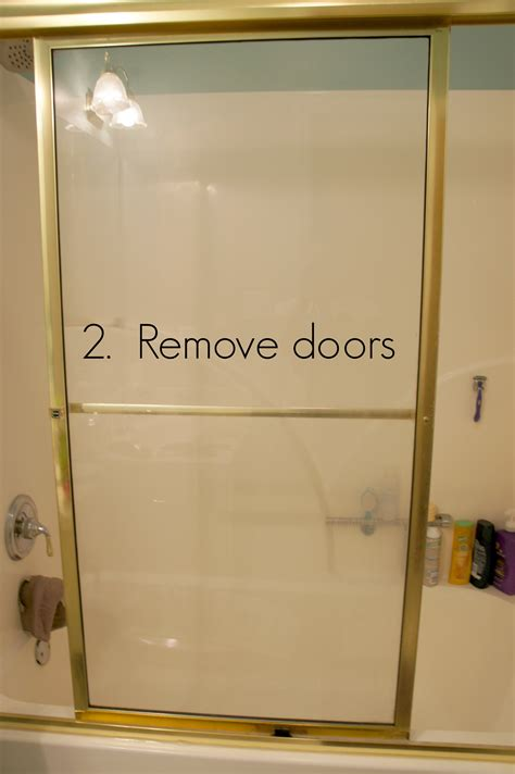 Removing Exterior Door How To Remove Shower Glass Doors