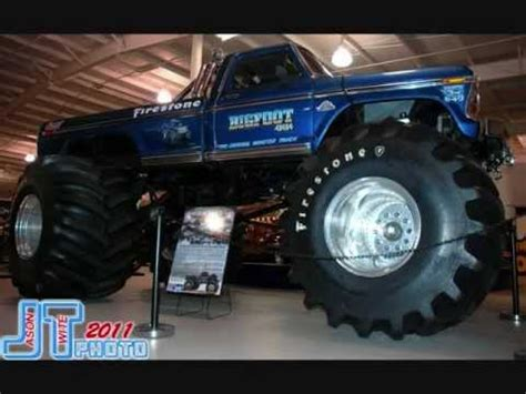 bigfoot monster truck videos youtube bigfoot monster truck classics youtube