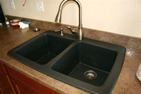 how to clean a black composite sink black granite sink black granite composite bowl sink black