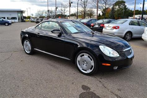 lexus coupe 2004 lexus sc 300 black automatic illinois mitula cars