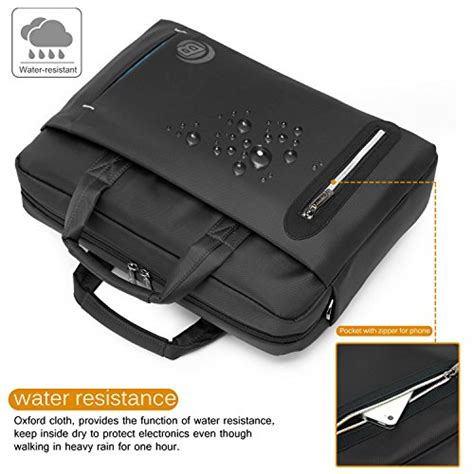 Hp Lenovo Waterproof coolbell 17 3 inch laptop bag messenger bag bag multi compartment briefcase waterproof