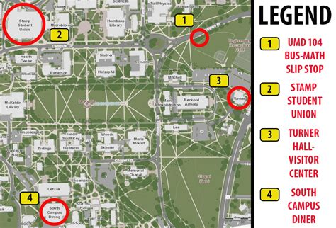 umd cus map cus tours self guided tours