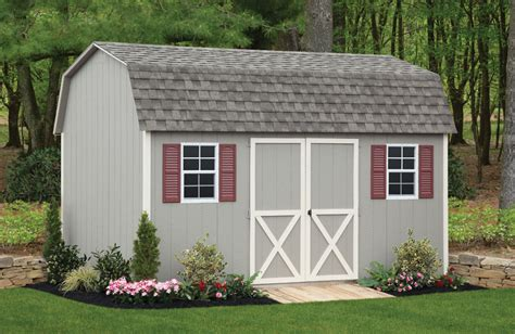 Barn Yard Sheds by Crav Complete Backyard Sheds And Barns