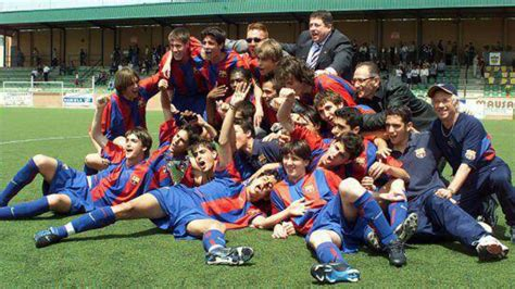 barcelona youth lionel messi a career in photos