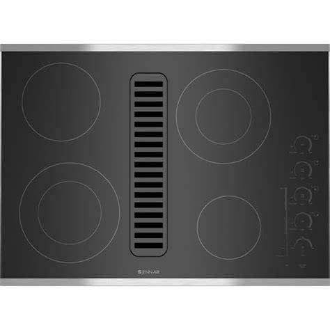 jenn air cooktops downdraft jenn air electric radiant downdraft cooktop with