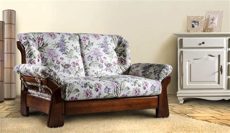 poltrone country country sofa in solid wood idfdesign