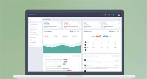 best admin panel template 10 best responsive admin dashboard templates