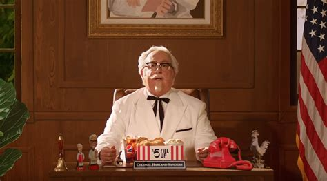 kfc commercial actress kfc commercial quot the value colonel quot from 2018 adwhois