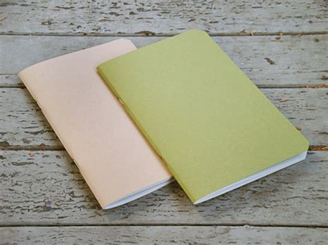 design squish handmade recycled paper notebooks