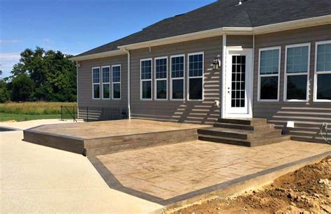 Open Patio Designs Open Patio Design Blackwater Concrete Virginia