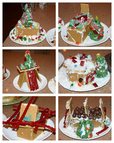 Gingerbread House With Graham Crackers by Graham Cracker Quot Gingerbread Quot Houses Craft Ideas