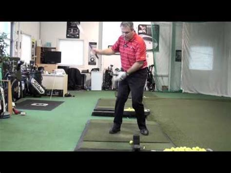 shawn clements golf swing feel brace in swing face on shawn clement wisdom in golf