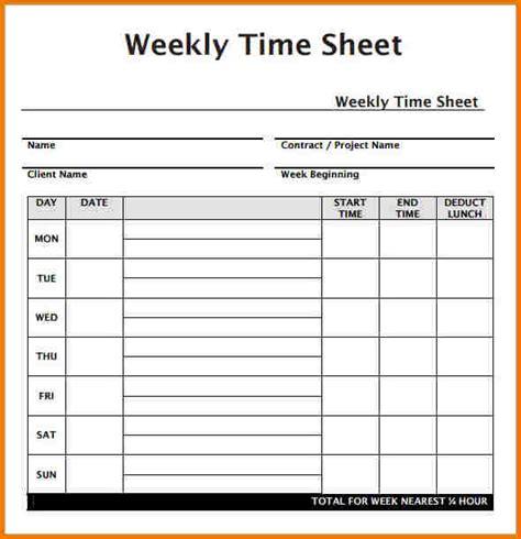biweekly timesheet calculator with lunch break template