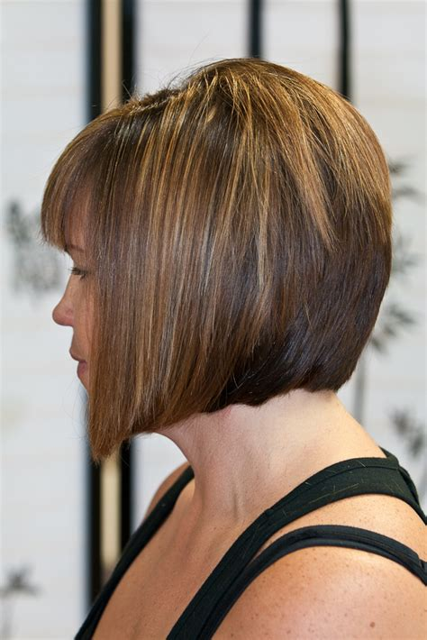 swing bob haircuts 2013 back view short hairstyle 2013