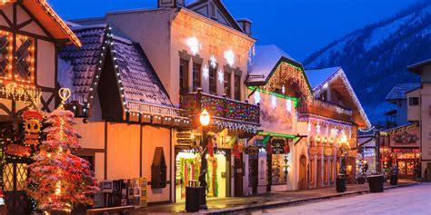christmas towns  usa  christmas towns