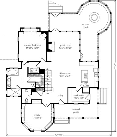 southern living open floor plans davidson gap allison ramsey architects inc southern
