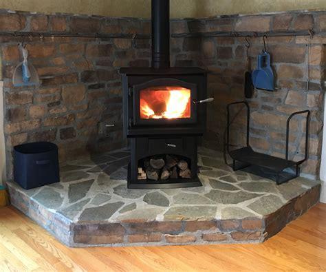 Electric Heat Fireplace by Home Projects Kuma Ashwood Wood Burning Stove Auburn