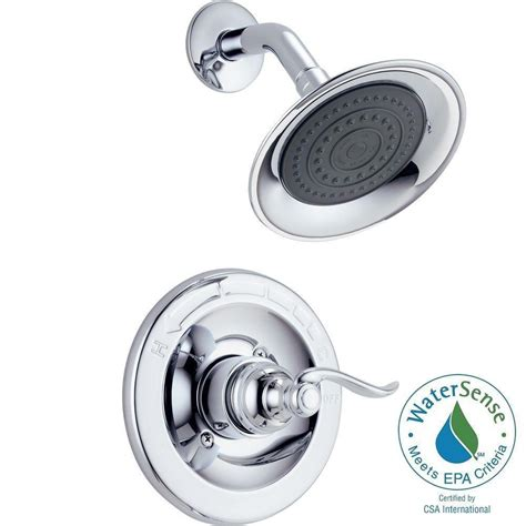 Delta Windemere Shower Faucet by Delta Windemere 1 Handle Shower Only Faucet Trim Kit In