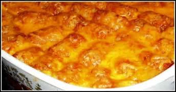 sandra s alaska recipes sandra s easy cheesy tater tot casserole