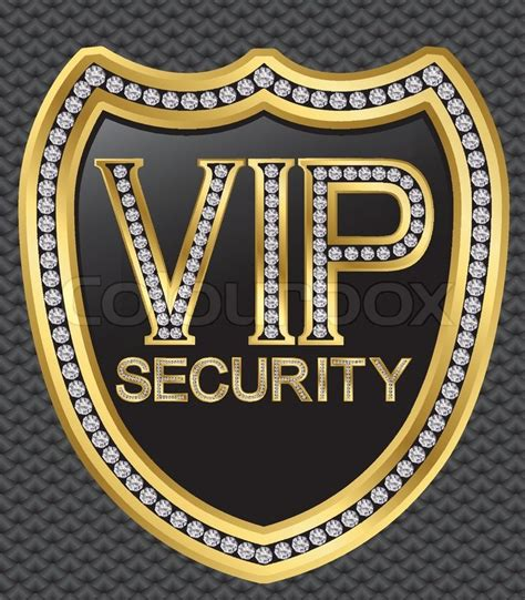 total protect gold home service plan vip security protection shield golden with diamonds