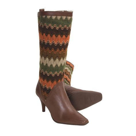 knit sweater boots bellini callan boots sweater knit leather for