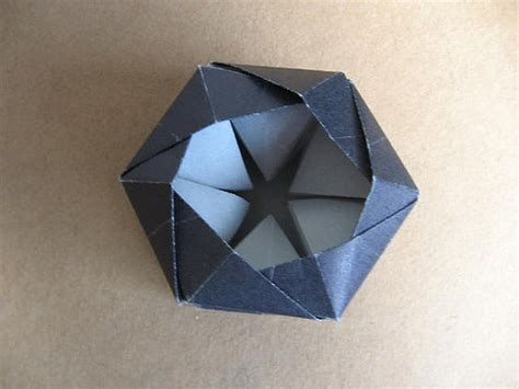 Hexagonal Origami - menako ishibashi s top from a hexagon jorge