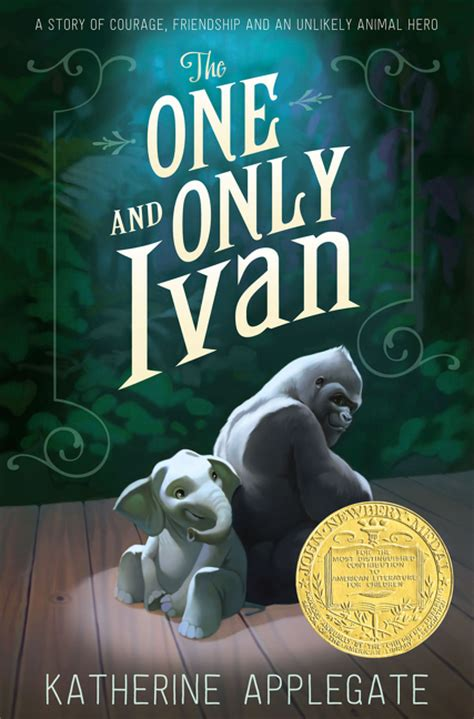 only the books the one and only ivan katherine applegate paperback