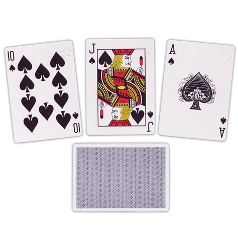 Blind Brail Maxiaids Braille Playing Cards Brailled One Corner Only