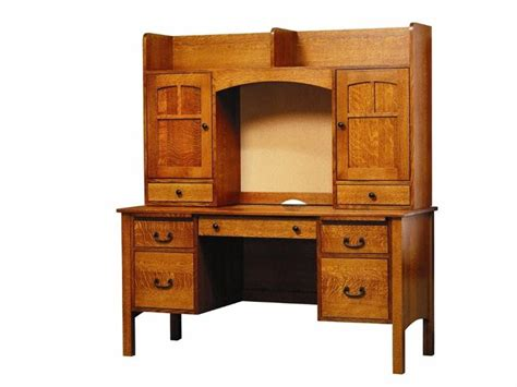 60 desk with hutch amish rivertowne 60 quot desk with open hutch top and cork board