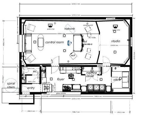 home studio design layout 32 best images about recording studio designs on pinterest