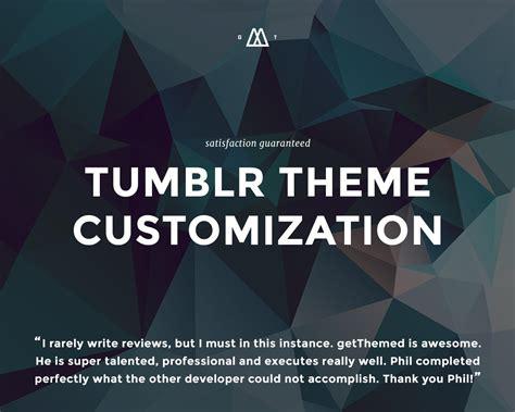 theme tumblr voices tumblr theme customization by getthemed on envato studio