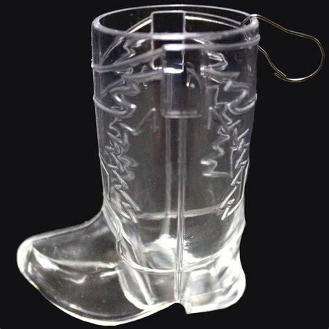 Western Bar Glasses Western Boot Glass Medallion Bar Supplies Drinkware