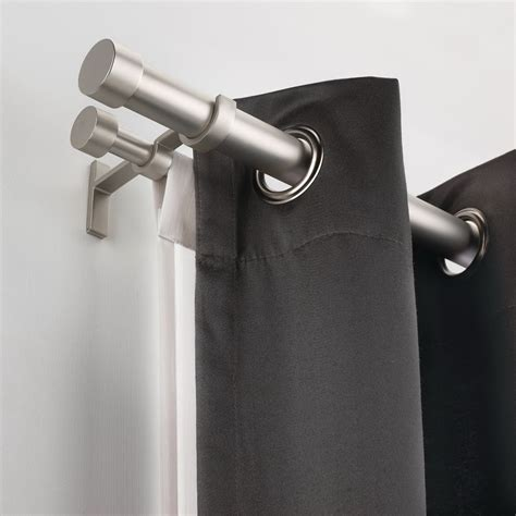 double curtain rod ikea ikea double curtain rod home design ideas