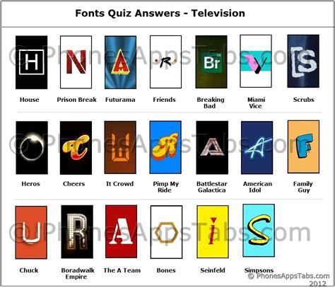 film quiz dingbats fonts quiz answers television