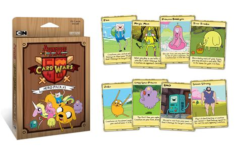 cards adventure time adventure time card wars pack 1 cryptozoic