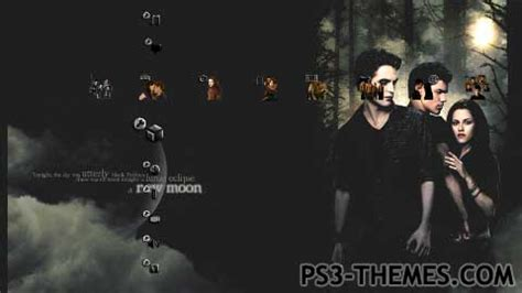 new themes ps3 ps3 themes 187 new moon
