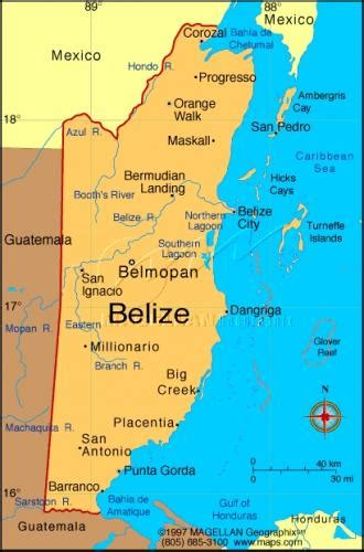 map of mexico and belize the history of belize the black past remembered and