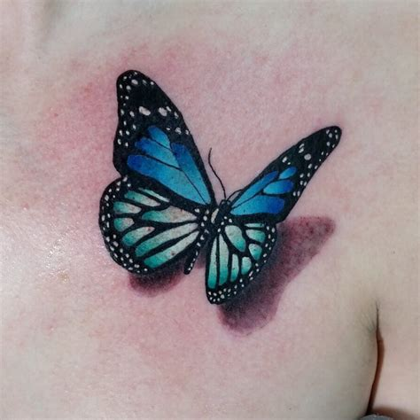 blue butterfly tattoo blue butterfly blue