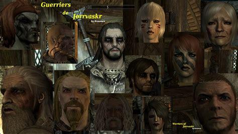 skyrim ria mod warriors of jorrvaskr guerriers de jorrvaskr v en fr